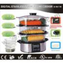 Digital Stainless Steel Steam Cooker (China)