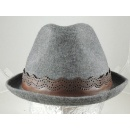 Jersey Fedora with Leather Trim (Hong Kong)
