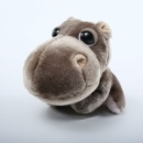 Plush Hippopotamus (Mainland China)